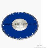 La prensa caliente super delgada cuchilla Turbo cuchilla de diamante, de la hoja de corte de diamantes