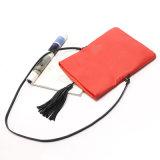 PU女性革ハンドバッグデザイナーイブニング・バッグの贅沢なふさのメッセンジャー袋(WDL0960)