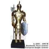 Protetor romano antigo a-203A/a-203c do guerreiro do cavaleiro da armadura medieval