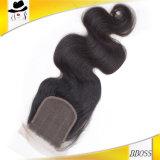 Pegamento lateral natural de la peluca de la fricción del frente del cordón de la pieza del 100%