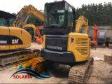 maquinaria de construcción usadas de excavadora hidráulica Komatsu PC55mr excavadora de cadenas de venta