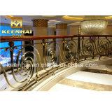 Moderno diseño interior Baranda Escalera de acero inoxidable 304 Baluster