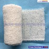 100%年の綿の医学の伸縮性があるクレープの包帯(C101)