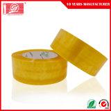 Nastro impaccante giallastro di BOPP per il nastro adesivo della scatola di sigillamento