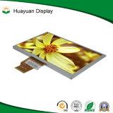Visor LCD de 7 polegadas de alto brilho de 800x480