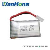 3.7V 25c het Stuk speelgoed van de Batterij van het Lithium van Quadcopter van de Hommel 702030pl 250mAh