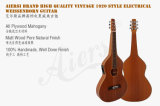 Corda de Aiersi que liga a guitarra havaiana elétrica superior contínua