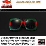 1761 óculos de sol Tricolor do frame da forma nova