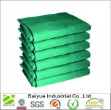 Movendo cobertor com verde e preto de PP Nonwoven Fabric
