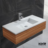Gesundheitliches Ware-Badezimmer-Schrank Corian Wäsche-Bassin