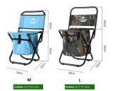 여름 바닷가 경량 옥외 냉각기 부대 야영 어업 금속 프레임 접는 의자