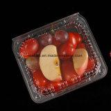Neuer Entwurfs-Raum-Quadrat-Zylinder-Nahrungsmittelablagekasten-Kuchen-Frucht-Fleisch-Brot-Schnellimbiss-Gemüse-Kunststoffgehäuse-Behälter