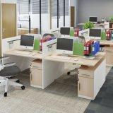 파일 서랍 컴퓨터 칸막이실을%s 가진 주문을 받아서 만들어진 6 Seater 사무실 워크 스테이션
