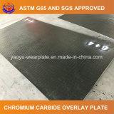 Plaque de soudure de carbure de chrome pour le matériel de construction de routes