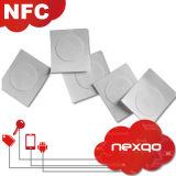 Etiqueta autoadhesiva suave barata de la escritura de la etiqueta NFC del plástico RFID con la impresión de encargo