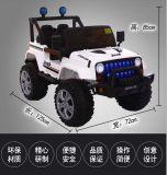 Auto van de Kinderen van de Jeep van de fabriek de Elektrische met de Staaf van de Duw