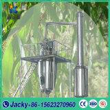 Nuevo tipo Lavanda hojas de eucalipto Aceite esencial de la máquina de extracción de aceite esencial pequeño equipo de destilación