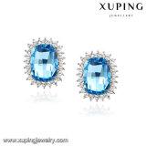 92601 Xuping 호화스러운 귀걸이 형식 보석, Swarovski 성분 보석을%s 가진 장식 못 여자 귀걸이 결정