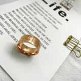 주문 최신 판매 형식 Charming 보석 민중 황금 반지