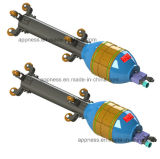 小さい直径の内部パイプラインClamper: 重量(クローラーを含まないため) 3.5kg