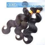 Человеческие волосы Remy девственницы индейца 100%, волосы Kbl