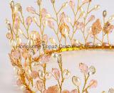 Parte capa Hairbands (EH01) della perla di cerimonia nuziale del diadema della parte superiore del Rhinestone delle fasce dei capelli dei monili dei capelli dell'oro nuziale di cristallo degli accessori