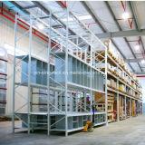 Cremalheira de aço durável aprovada do armazenamento do ISO