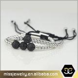 Armbänder Mens-Raupeanil-Arjandas, wulstige Armbänder für Männer Msbb010