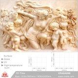 Les carreaux de céramique 3D art pour les matériaux de construction de fond (VPA6A890, 1200x1800mm, 1800x2400mm)