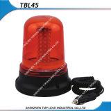 Il colore ambrato 12V-24V indicatore luminoso d'avvertimento girante/infiammante di 5730LED della spina bassa magnetica di Cigarettel guida (TBL 45)