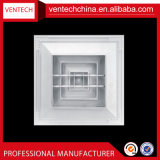 Aluminium 4 van de Prijs van de fabriek de Vierkante Verspreider van het Plafond van de Manier