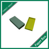 Rectángulo de papel de la tapa y del regalo rígido de la base