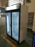 Vetrina del dispositivo di raffreddamento del tipo di visualizzazione e di Singolo-Temperatura di stile