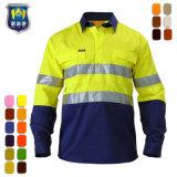 Commerce de gros vert fluorescent orange shirt Sécurité Vêtements De Travail
