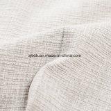 Ткань мебели софы нового деталя белая