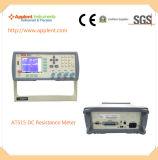 높은 정밀도 매우 시험 속도 (AT515)를 가진 마이크로 옴 미터