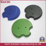 As peças de alumínio de precisão personalizados com a anodização colorida