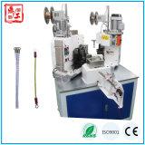 Estaca automática do chicote de fios do CNC Dg-602 que descasca torcendo a maquinaria de friso
