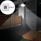 Indicatore luminoso solare astuto della rete fissa del LED con il sensore chiaro