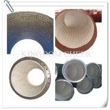 Tuyau résistant à l'usure avec la tuile de céramique ou de la brique