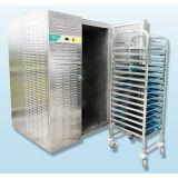 Aprovisionamento de fábrica de alimentos comerciais Freezer Blaster rápida