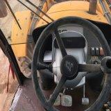 Fait dans 2013 le chargeur utilisé de pelle rétro de roue de JCB 4cx à vendre