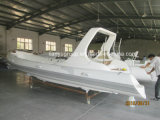 Liyaの熱い販売6.6mの膨脹可能なボートのガラス繊維のスポーツの肋骨のボート