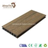 Decking plástico de madera de la coextrusión del compuesto WPC del mantenimiento libre caliente de la venta