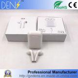 I8 Oortelefoon van de Telefoon Earbuds van de Hoofdtelefoon van Bluetooth van Tweelingen de Stereo Draadloze met Lader