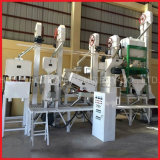 18-20 tonnes/jour décortiqueuse de riz à petite échelle Machine automatique