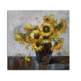 Home Decoration를 위한 중국 Handmade Sunflower Oil Paintings