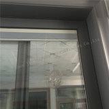 Porta de alumínio da vitrificação dobro de porta deslizante com máscaras de Ingetral