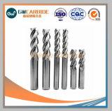 OEM HRC45/55/60/65 de Stevige Molen van het Eind van het Carbide Vlakke
