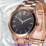 Het Geweten Horloge van de Mens van het roestvrij staal Kwarts, OEM van de Horloges van Mensen de Dienst (wy-17022)
